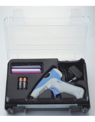 Deluxe Battery Glue Gun Kit